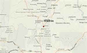 map of madras oregon madras location guide