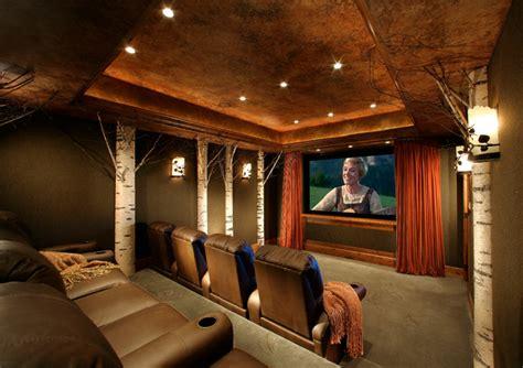 mountain formal theater traditional home theater phoenix  sesshu design associates