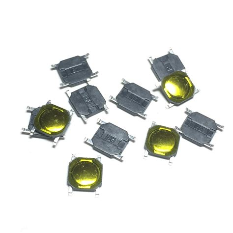 100pcs 4x4x0 8mm tact switch smt smd tactile membrane
