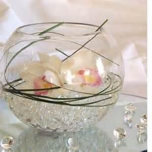 bille d eau mariage pour vase centre de table