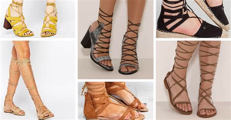 pairs  leg wrap sandals  feet   fuss