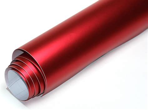 Folie Rot Chrome Matt by Rot Chrom Matt Metallic 11 X 1 52 Meter Blasenfrei