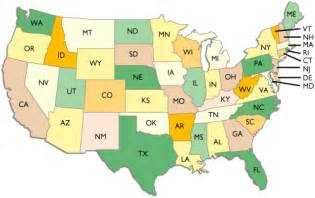 united states two letter abbreviation map