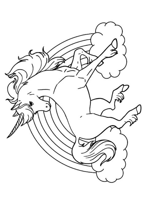 black and white coloring pages of unicorns print coloring image kleurplaten magische wezens en