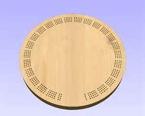 Free Cribbage Board Template 15 Inch Round Template