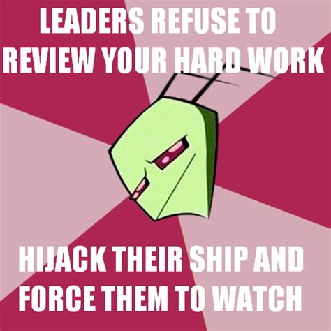 Zim Meme - zim meme invader zim know your meme