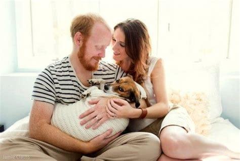 perros e hijos de 6071135443 pareja se toma una sesi 243 n de fotos con su hijo perro perro contento