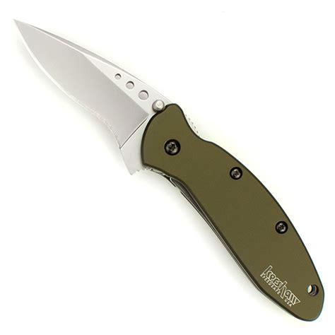 kershaw scallion knife kershaw 1620ol scallion knife assisted shoot