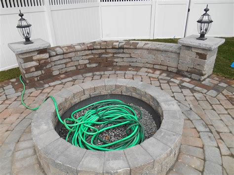 unilock pit landscape and masonry contractor trac landscaping in