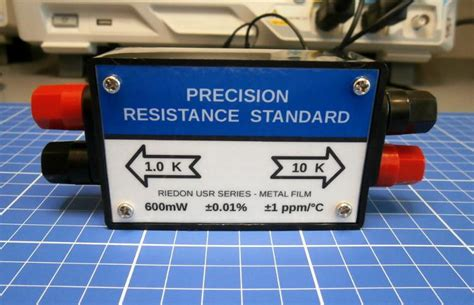 a standard resistor is made bifilar type to eliminate my resistance standard box page 1