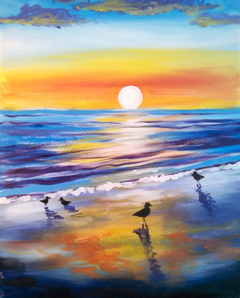 paint nite tucson learn to paint birds
