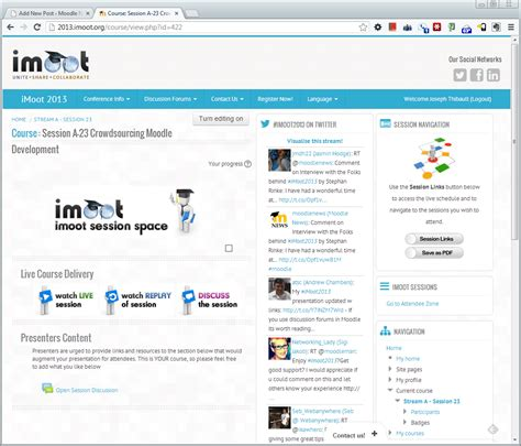 theme moodle essential essential theme uses the 2013 imoot as it s grand entrance