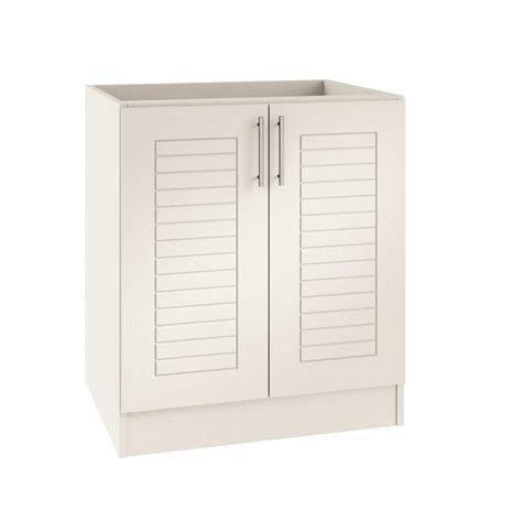 assembled 30x34 5x24 in base kitchen cabinet in weatherstrong assembled 30x34 5x24 in key west open back