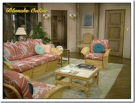 Rattan Vase Southgate Residential Tv And Movie Houses The Golden Girls