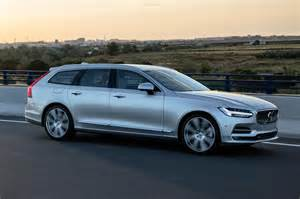 Volvo V90 2016 New Volvo V90 Estate 2016 Review Pictures Auto Express