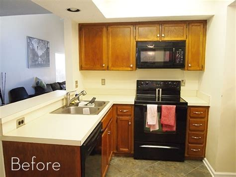 before and after goodbye 80s kitchen curbly