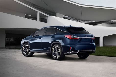 new lexus rx lexus rx the fourth generation lands at 2015 new york