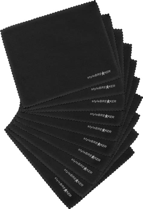 Sonnenbrille Glas Polieren by Microfaser Putztuch 10er Set 1436