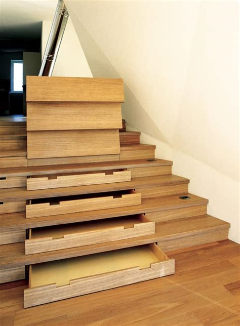 Stairs With Storage | over 30 clever under staircase storage space ideas and