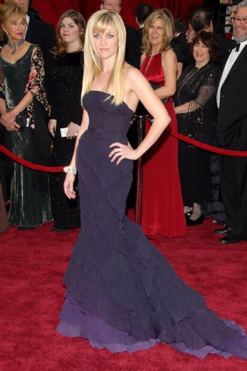 Reese Witherspoon At The 2007 Oscars by Moda Especial Oscar