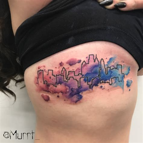 watercolor tattoo philly murrt
