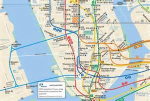 New York Path Map by Mta Map Does The Path Train Get Its Due Upout