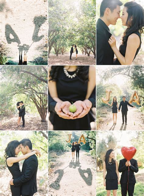 wedding photo shoot locations los angeles la arboretum engagement photography caroline los