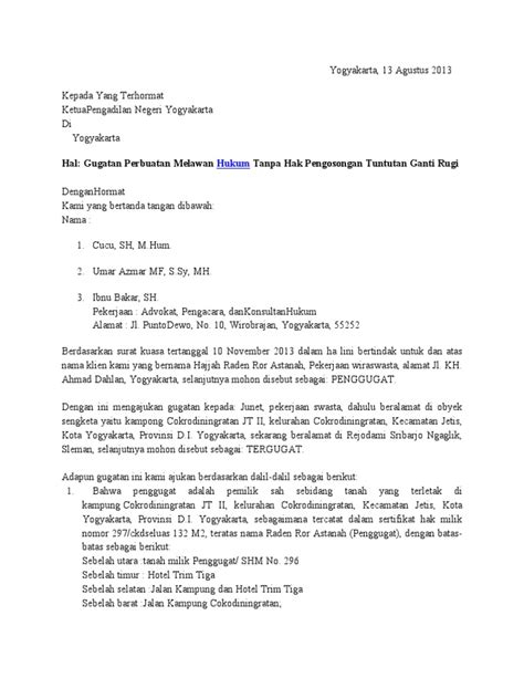 contoh surat kuasa ganti nama bpkb jobsdb