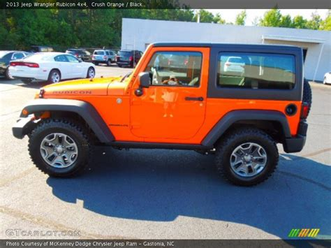 Orange Jeep Rubicon 2013 Jeep Wrangler Rubicon 4x4 In Crush Orange Photo No