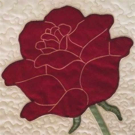 quilt pattern rose 81 best flower quilt blocks images on pinterest pointe