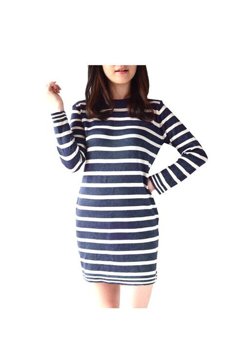 Anlyn Navy Baju Blouse Atasan Kemeja new arrival cocktail dress many colors and style dress bodycon dress branded dress kemeja
