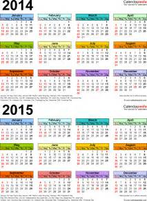 2014 2015 calendar template 2014 2015 calendar free printable two year word calendars