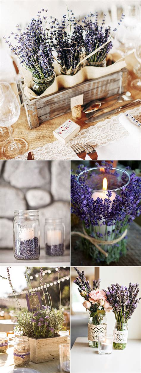 country wedding centerpiece ideas 40 most charming lavender wedding ideas