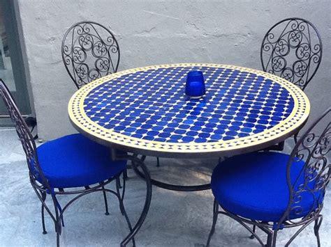 moroccan tile outdoor table moroccan outdoor mediterranean dining tables los