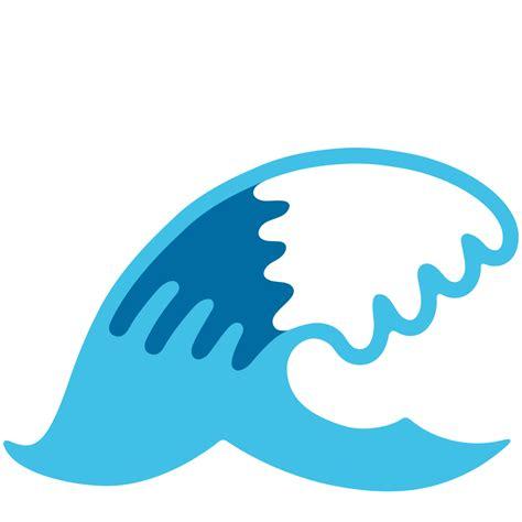 Emoji Of A Wave | file emoji u1f30a svg wikipedia