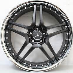 20 inch aftermarket mercedes amg modular style wheels