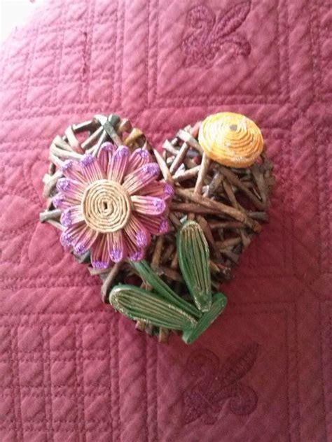 fiori con cannucce cuore fiori cannucce cannucce di carta