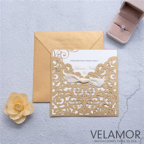 invitaci 243 n de boda en tres papeles distintos digitalpapel invitaciones platinum sobres calados con laser mayoreo de invitaciones invitaciones de boda venta