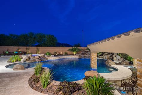 Pools For Backyards Backyard Boulder Living Tributary Pools Amp Spas