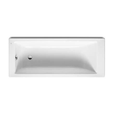 baignoire design encastr 233 e 170x70 acrylique blanc roca