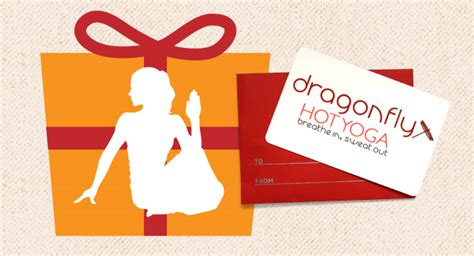 Yoga Gift Card - gift cards are 10 off dragonfly hot yoga madison wi