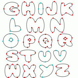 Free 6 Inch Printable Alphabet Stencil - DYNASTY™ 東方不敗 ... O Block Gang Sign