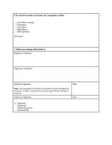 employee discipline warning notice form hashdoc