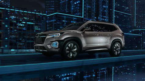 Subaru Size Suv 2016 La Auto Show Subaru Viziv 7 Suv Concept Makes World