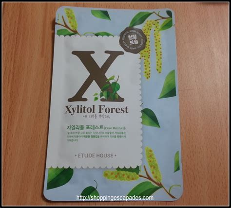 Etude A Z Mask Harga review etude house i need you xylitol forest a to z mask sheets