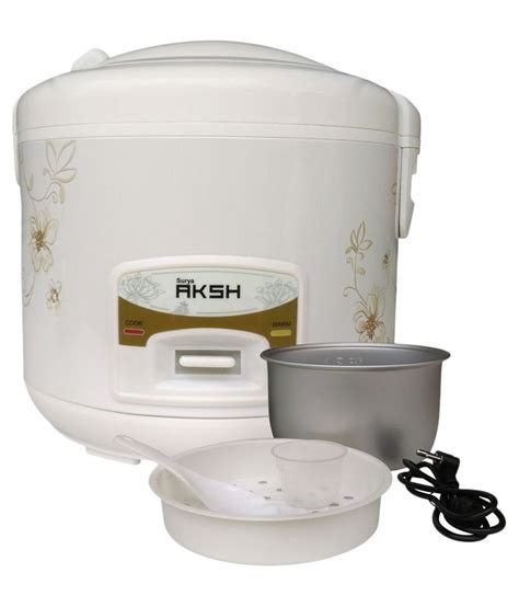 Ichiko Rice Cooker Rc 8000 by Surya Aksh Rc 01 Rice Cookers At Snapdeal