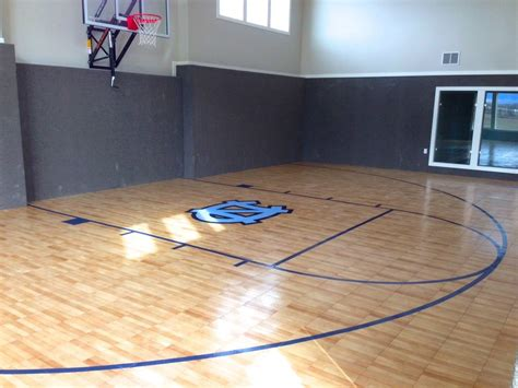 basement basketball court indoor home basketball court home gym traditional with