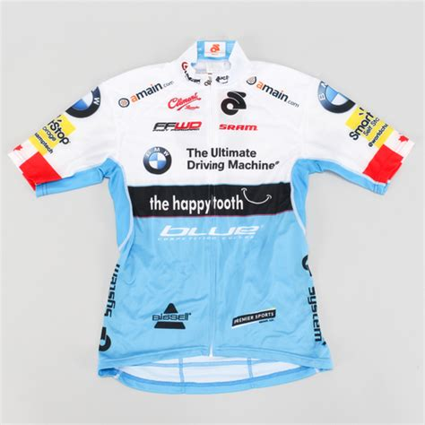 chion system cycling jersey small bmw sram clement road