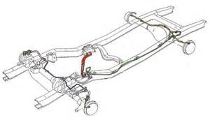 Brake Line Diagram Ford F250 Stainless Brake Lines Horses Early Ford Bronco