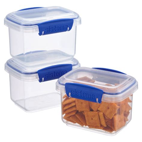 Lunch Box Klip To Keep 750 Ml Kotak Makan Bulat 750 Ml klip it snack boxes the container store